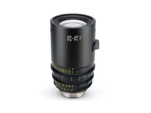New Tokina 25-75mm T2.9 Cinema Lens