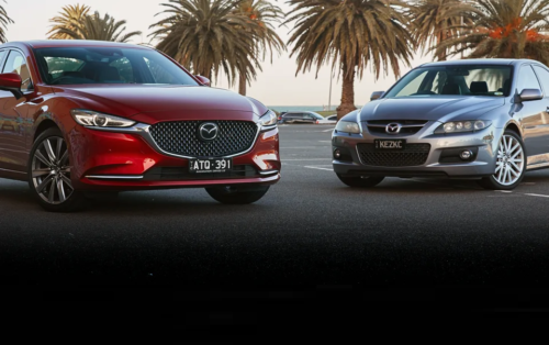 Old v new: Two generations of turbo petrol Mazda6s go at it – 2018 Mazda 6 Atenza turbo v 2005 Mazda 6 MPS comparison