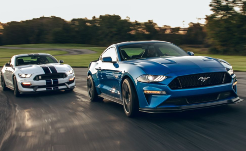 Ford Performance Kit for Mustang GT Boosts 5.0L V-8's Power and Torque