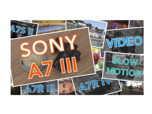Sony A7 III, A7R III, A9 Slow Motion Settings