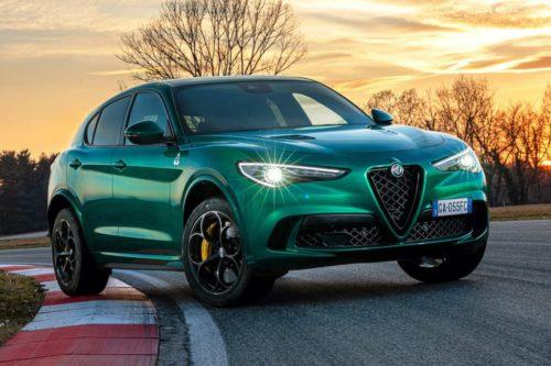 Fast Alfa Romeo Stelvio Quadrifoglio freshens up