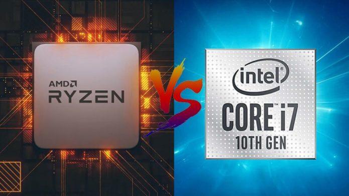 Intel Core i7-10750H vs AMD Ryzen 7 4800H – the AMD CPU is the new mobile processor king