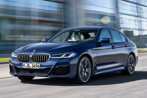 BMW 5 Series electrified