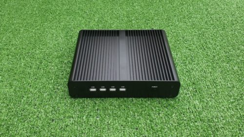 Inctel Technology Partaker B16 fanless silent industrial Core i7 mini PC review