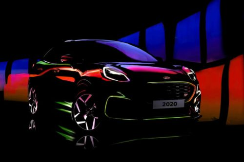 Hot Ford Puma ST teased