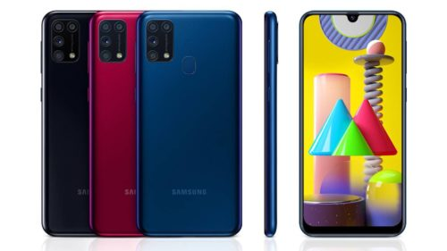 Galaxy M31 brings four cameras and a giant battery to the UK