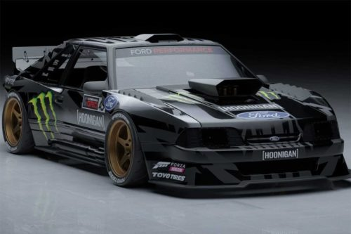 Hoonifox: Ken Block's latest Mustang