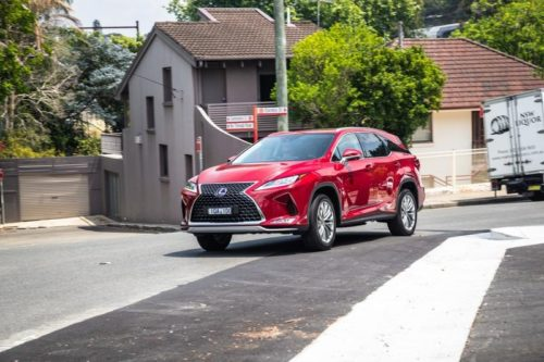 2020 Lexus RX450hL Sports Luxury review