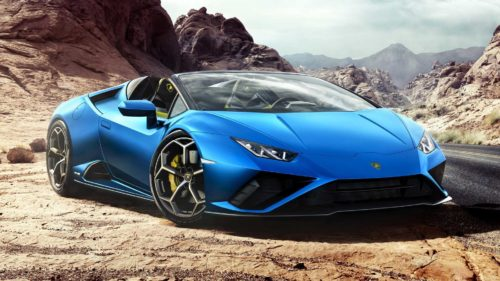 602-HP Lamborghini Huracán Evo RWD Now Available as Spyder Droptop