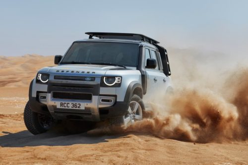 New Land Rover Defender V8 coming