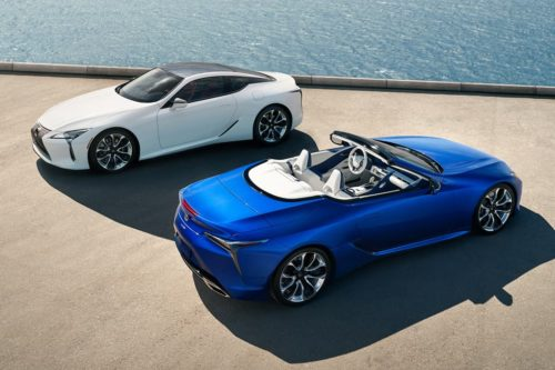 Upgraded Lexus LC 500 Coupe coming