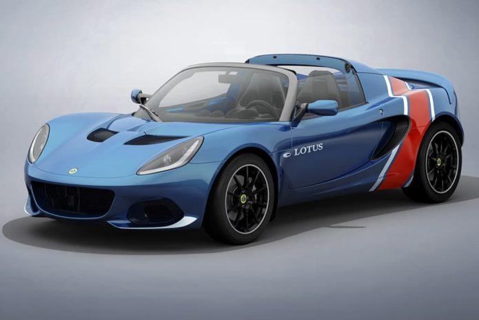 Lotus reveals heritage-inspired Elise models
