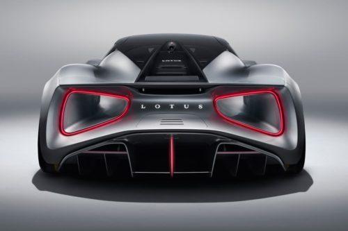 Lotus hatching Evija successor with energy company