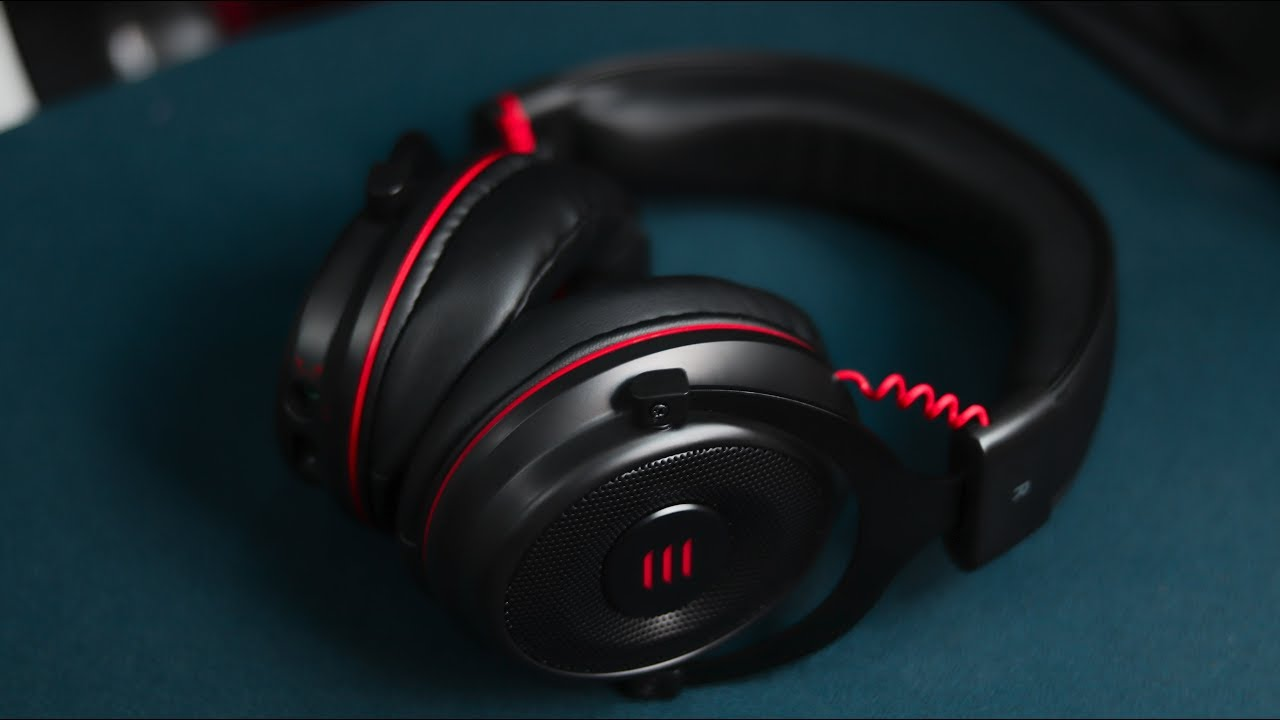 EKSA E900 Gaming Headset Review: Noise Cancelling Mic, Soft Memory Earmuffs for PC, Laptop