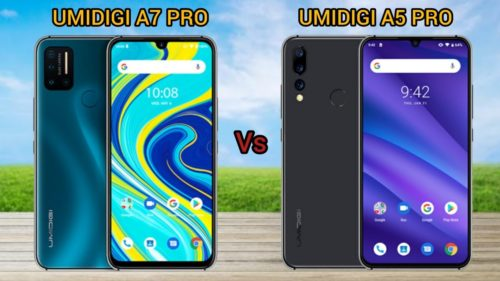 Comparison Between Umidigi A7 Pro VS A5 Pro Review