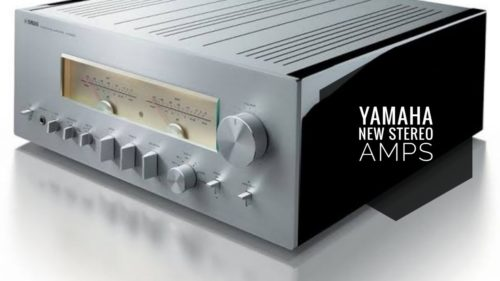 Yamaha unveils a trio of analogue-only stereo amps with VU meters