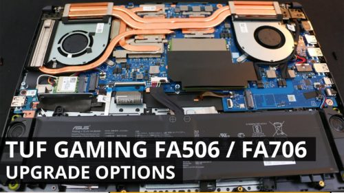 Inside ASUS TUF A17 (FA706) (AMD Ryzen 7 4800H) – disassembly and upgrade options