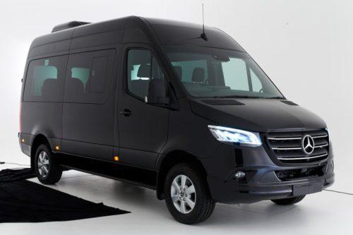 Mercedes-Benz Sprinter Transfer minibus rolls in