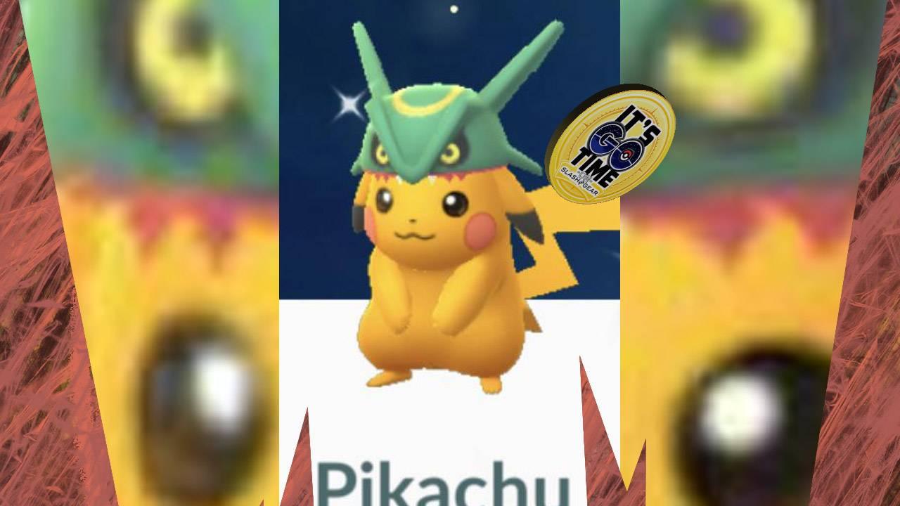 Is this shiny Pokemon GO Pikachu more disturbing than Cubone?