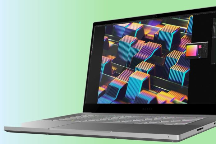 The Razer Blade Studio Edition is for creative pros who like a little RGB, too