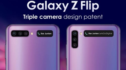 Galaxy Z Flip 2 could have three cameras but a larger cover display