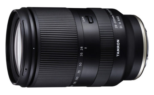 Tamron 28-200mm f/2.8-5.6 Di III RXD FE Lens Announced