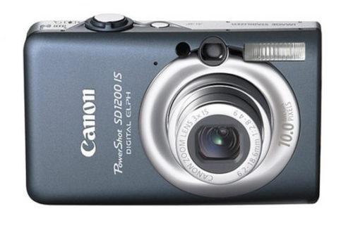 Canon PowerShot SD1200 IS (Digital IXUS 95 IS) Camera