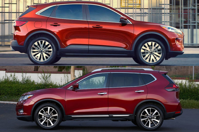 2020 Ford Escape vs. 2020 Nissan Rogue: Which Is Better?