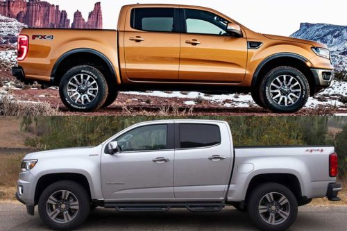 2020 Ford Ranger vs. 2020 Chevrolet Colorado: Which Is Better?