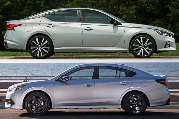 2020 Nissan Altima vs. 2020 Subaru Legacy: Which Is Better?
