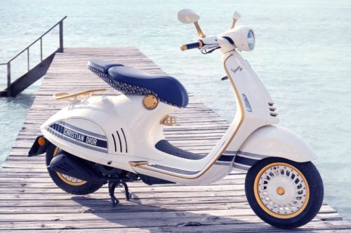 2021 Vespa 946 Christian Dior First Look: Limited Edition Scooter