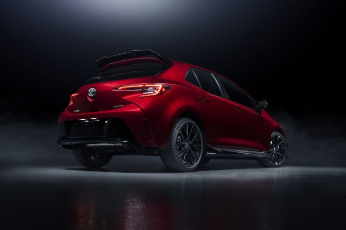 2021 Toyota Corolla Hatchback Gets Flashy Red Special Edition