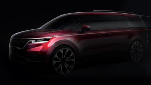 2021 Kia Sedona teases SUV style with minivan practicality