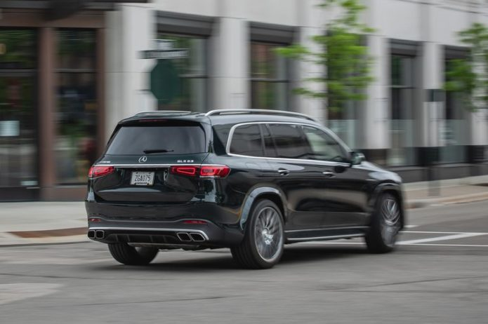 Tested: 2021 Mercedes-AMG GLS63 Three-Row SUV Can Beat a C7 Corvette to 60