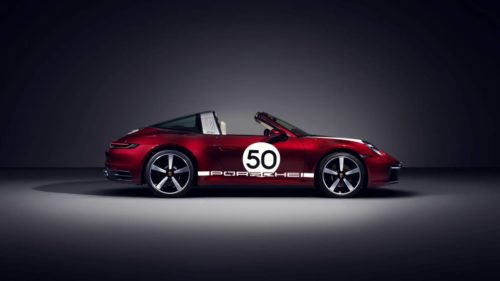 2021 Porsche 911 Targa 4S receives Heritage Design Edition livery