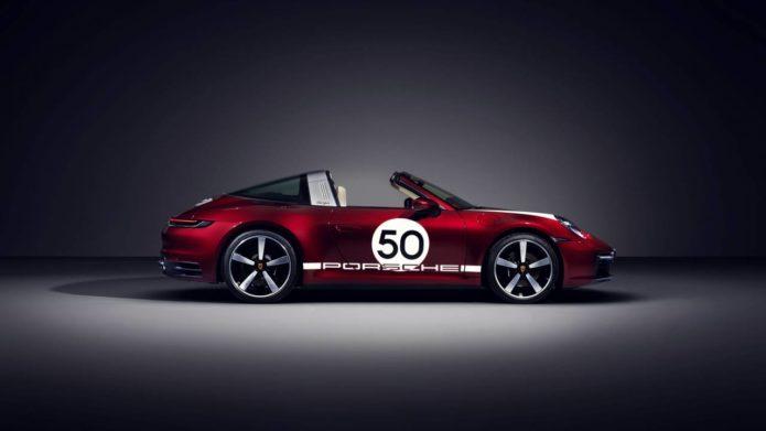 2021 Porsche 911 Targa 4S receives Heritage Design Edition livery