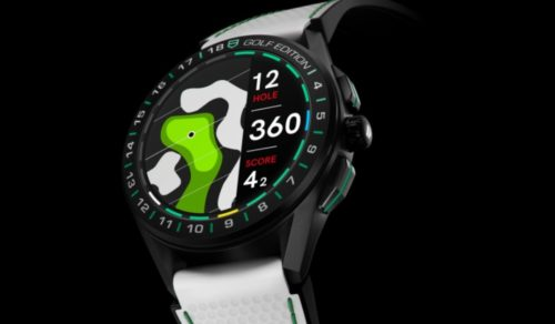 Tag Heuer Connected Golf Edition 2020 could be another hole-in-one
