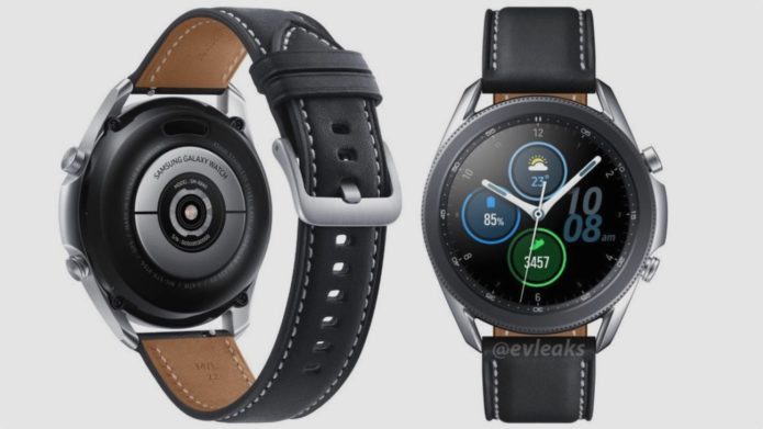 Here's our first look at the new Samsung Galaxy Watch 3 smartwatch
