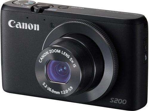 Canon PowerShot S200 Camera