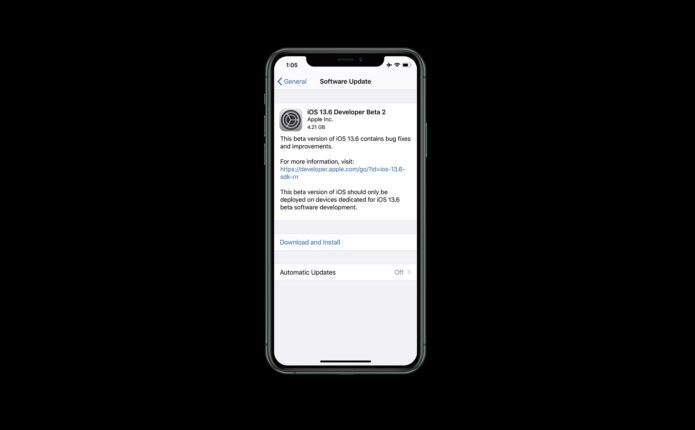 5 Things to Know About the iOS 13.6 Update