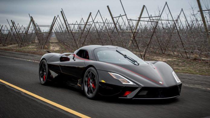 Watch the SSC Tuatara hypercar accidentally throw down the gauntlet to Bugatti