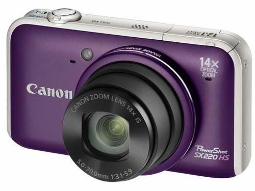 Canon PowerShot SX220 HS Camera