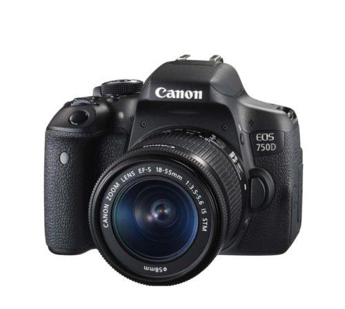 Canon EOS 750D Camera