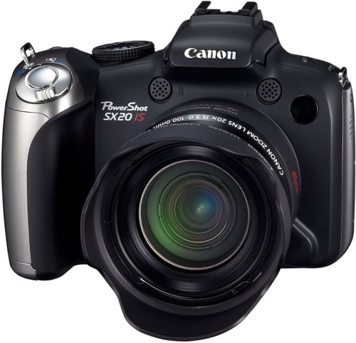 Canon PowerShot SX20 IS Camera