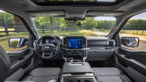 Ford F-150 debuts B&O Unleashed's 18-speaker system
