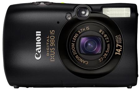 Canon PowerShot SD990 IS (Digital IXUS 980 IS) Camera