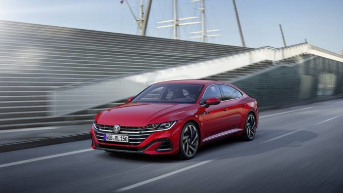 2021 Volkswagen Arteon gets a facelift and refreshed interior