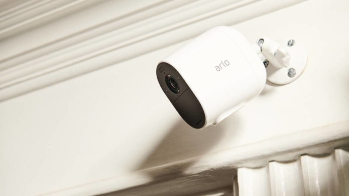 Arlo Essential Spotlight Camera offers night vision without the bridge