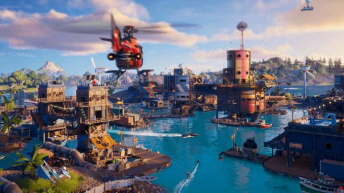 Fortnite Chapter 2, Season 3 floods the world, adds Aquaman