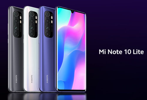 Xiaomi Mi Note 10 Lite in for review